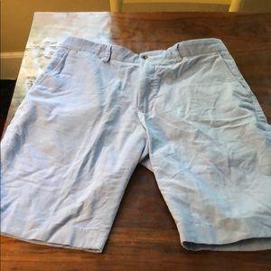 Ralph Lauren baby blue corduroy shorts